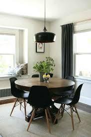 practical mid century modern round dining tables mid century modern dining table target v5014682