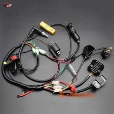 zongshen 250cc ignition promotion shop for promotional zongshen complete electrics wiring harness ngk spark plug cdi ignition coil kits for chinese dirt bike 150cc 200cc 250cc zongshen loncin