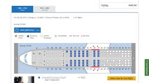 Delta Seating Chart By Flight Number Seat Selection Fees United Joins Delta And American With