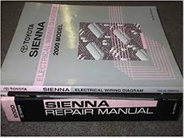 2000 toyota sienna van service shop repair manual set factory books 2000 toyota sienna van service shop repair manual set factory books dealership service manual wiring diagrams manual and the automatic transmission