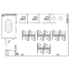 office layout. Office Layout M