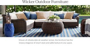 Outdoor wicker dining sets Outdoor Furniture Outdoor Furniture Pottery Barn Outdoor Wicker Dining Sets Patio Wicker Dining Sets Pottery Barn
