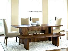 round table with bench seat dining table with bench seating dining room sets with bench seat