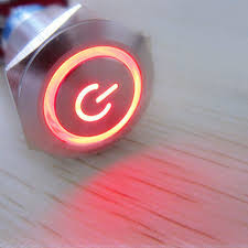 amazon com esupport 19mm 12v 5a power symbol angel eye halo car red amazon com esupport 19mm 12v 5a power symbol angel eye halo car red led light metal push button toggle switch socket plug wire automotive