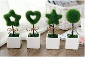 office pot plants. plants pot office wishing tree artificial plant small bonsai simulation decorative flower gift false plush desk