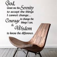 Quotes Wall Decal Serenity Prayer God Grant Me The Serenity