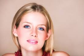 blondes look best in softer tones says sheknows beauty expert nina sutton on the cheeks and lips try pale pinks or peaches