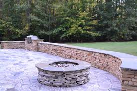 Stacked Stone Fire Pit raleigh outdoor fire pit builder 2007 by uwakikaiketsu.us