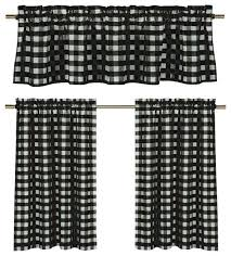 black and white plaid curtains black and white plaid kitchen curtains best black white gingham kitchen