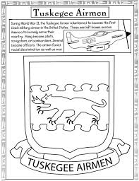 Small Picture Tuskegee Airmen Modern History Coloring Book Pinterest