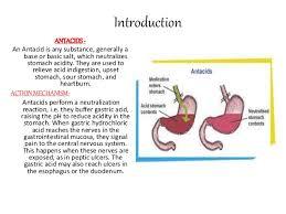antacids chemistry project