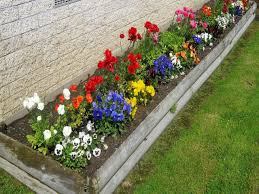 image of small flower bed ideas