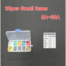 compare prices on motorcycle fuse box online shopping buy low 30pc set assorted small blade fuse 5a 10a 15a 20a 25a 30a auto car truck