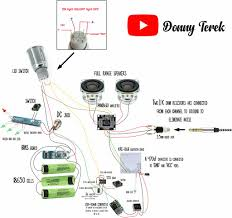 portable bluetooth speaker (free plans) 9 steps (with pictures)  at Krc 86b Bluetooth Wiring Diagram