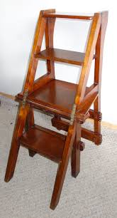 victorian metamorphic library chair steps 1 of 7