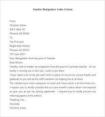 Format Letter Of Resignation Format Of Resignation Letter In India Filename Reinadela Selva