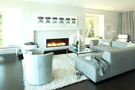 modern living room with brick fireplace mantel contemporary