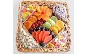 dried fruit and nuts basket food gifts for your friend who s a new mom pictures chowhound