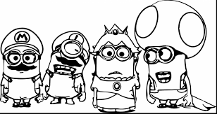Small Picture Free Printable Minion Coloring Pages Coloring Book of Coloring Page