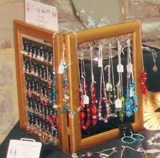 Earring Display Stand Diy Photo Frame Jewellery Display for Earrings and Necklaces by Helen 51