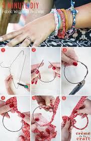 5 minute diy bracelet