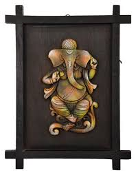 terracotta ganesh ganpati 3d frame on ganesh 3d wall art with terracotta ganesh ganpati 3d frame at rs 400 piece andheri west