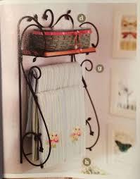 wrought iron bathroom shelf. Longaberger Wrought Iron Dogwood Wall Shelf W/ Woodcrafts | Iron, And Shelves Bathroom E