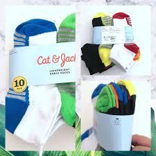 Cat And Jack Shoe Size Chart Cat Jack Ankle Socks Shoe Size 9 2 1 2 Nwt