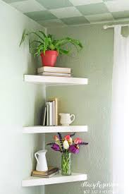 fabulous ideas wall mounted corner shelves floating corner shelves diy corner shelf jpg