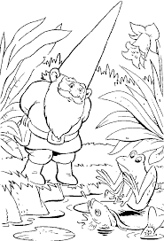 Small Picture Gnome Printable David the Gnome Coloring Pages