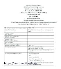 Workplace Investigation Report Template Safety Health And