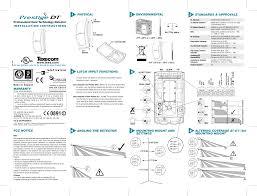 texecom prestige dt motion sensor for security alarm system user manual texecom eol wiring diagram Texecom Wiring Diagram #34