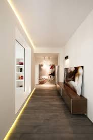 Contemporary hallway lighting Second Floor Hallway Rome Contemporary Hallway Design By Carola Vannini Architecture love The Baseboard Accent Lighting Feature Everythingkidsco Rome Contemporary Hallway Design By Carola Vannini Architecture