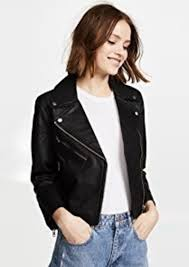 cropped leather jacket madewell