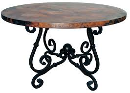 round coffee table base ideas french console with copper top wrought iron rod tables glass terrific skinny modern dining thin cast marble black wooden bases