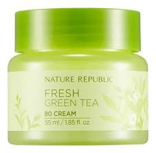Купить <b>крем для лица освежающий</b> с экстрактом зеленого чая ...