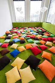 Does your office have a pillow room? Ours does.