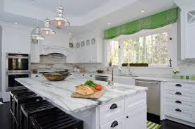 modern cabinet pulls white shaker. View Full Size. Stunning L-shaped Kitchen With Island Featuring White Modern Cabinet Pulls Shaker