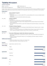 professional software engineer resumes software engineer developer resume examples format