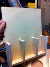 this shows the outer side of the caddy as i added the dividers for the