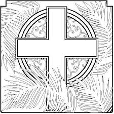 Catholic Coloring Sheets For Easter Holy Week Coloring Pages And