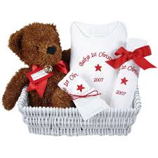 Baby's First Christmas: Gift Basket