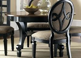 black wood round dining table black wood dining table for decoration black wood round dining room