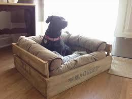 diy dog bed out of pallets how to make a s worldrhcroatiavacationsorg pallet attached night stands homemade