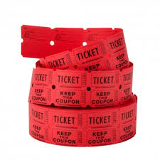 2 part raffle tickets 2 part raffle tickets perforated ticket coupon roll of 1 000