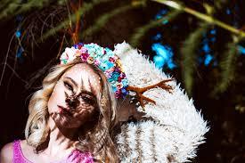 Něžná Květinová čelenka S Parůžky Zboží Prodejce čarbičková Bijoux