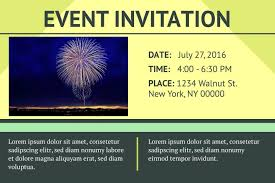 Event Invitation Event Invitation Templates Best Business Template 1