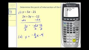 solve linear system using calculator
