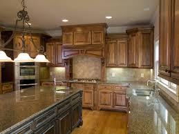 granite counter kitchen with large island