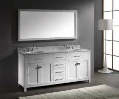 Double Bathroom Sink Cabinet Attractive 15 Bathroom With Double Sink On Small Bathroom